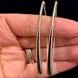 Retired Silpada Sterling Silver Drop Earrings
